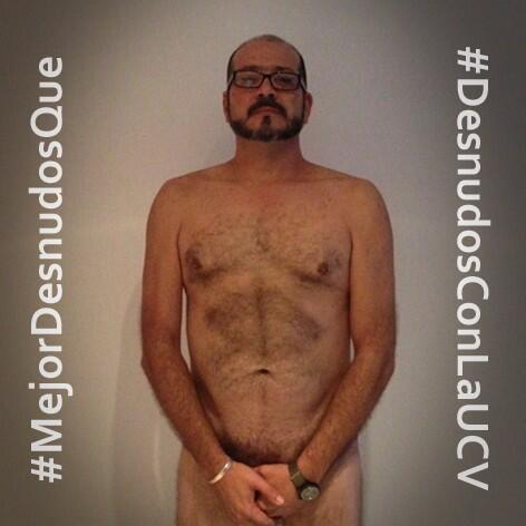 #MejorDesnudosQue bajo la bota de un poder destructor y asesino. #DesnudosConLaUCV #ConcluUCV #EfectoEco http://t.co/aZjD0z8aM9