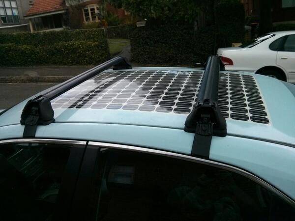 Dave Jones On Twitter Quot Fake Solar Panel Sticker On Car