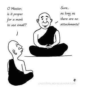 Twitter / JoyAndLife: Buddhist email principles ;-) ...