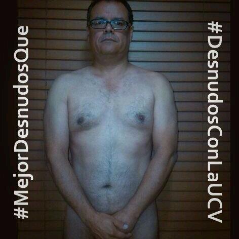 #MejorDesnudosQue sin esperanza #DesnudosConLaUCV http://t.co/OgWWeE3hXG