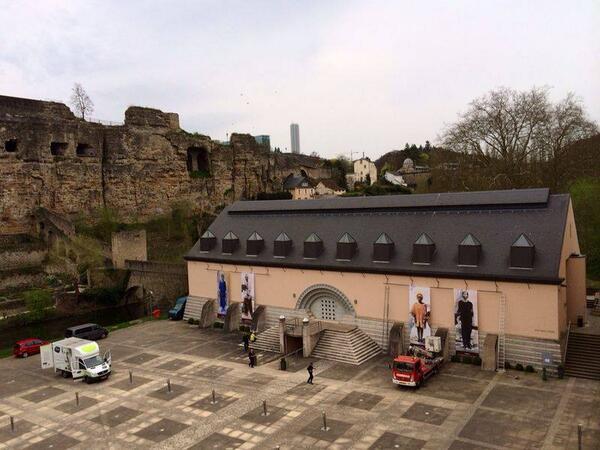 #Luxembourg Exposition pendant 100 jours @ccrn_lu #JeSuisDebout #LesHommesDebout #RwoT @Kwibuka20