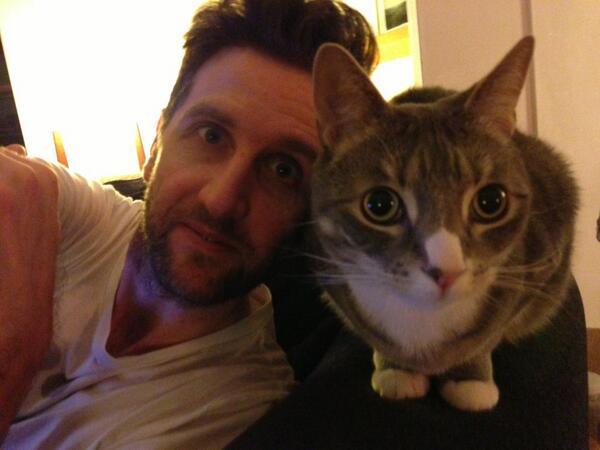 Archibald & me - #caturday http://t.co/wPgM3CeWZg
