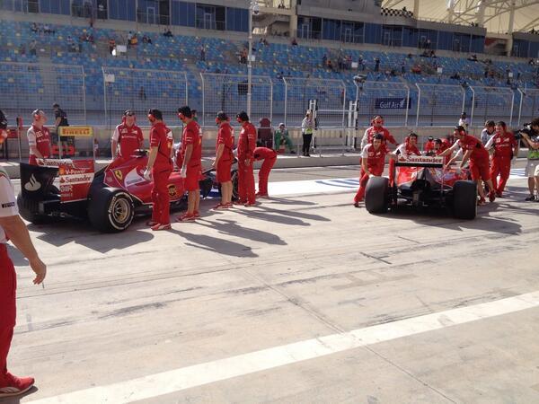 Los Ferrari ...
