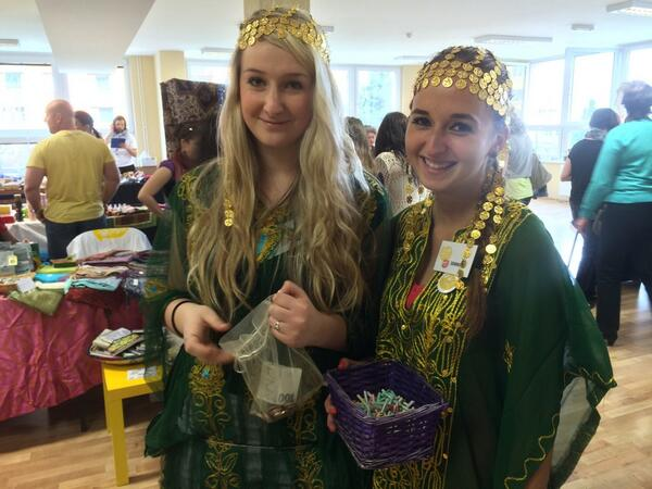 Our beautiful raffle girls #arabfest #raffle #stillwinning http://t.co/ZhYCzdUNfg