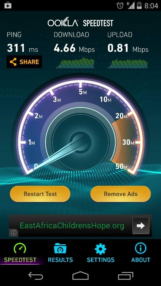 Since everyone is sharing it; here's a Speedtest result of Telenor PK on 3G: http://t.co/E3wF6UTwuQ