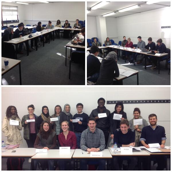 A photo from our MUN practice session...it really helped the students for the real event! http://t.co/BwyNKWtLic