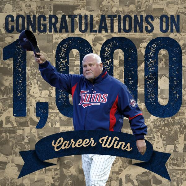 Retweet to congrat Gardy on win number 1,000! #Gardy1K http://t.co/EzNc2IwQs3
