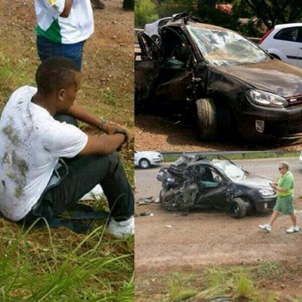 Thabo Car Crash