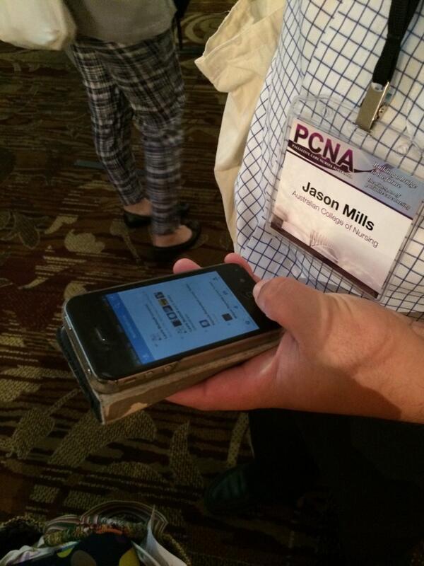 @jasonmills_77  is tweeting!!! #PCNA14 http://t.co/kWguVkjAZn