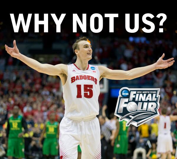 marchmadness finalfour badgers