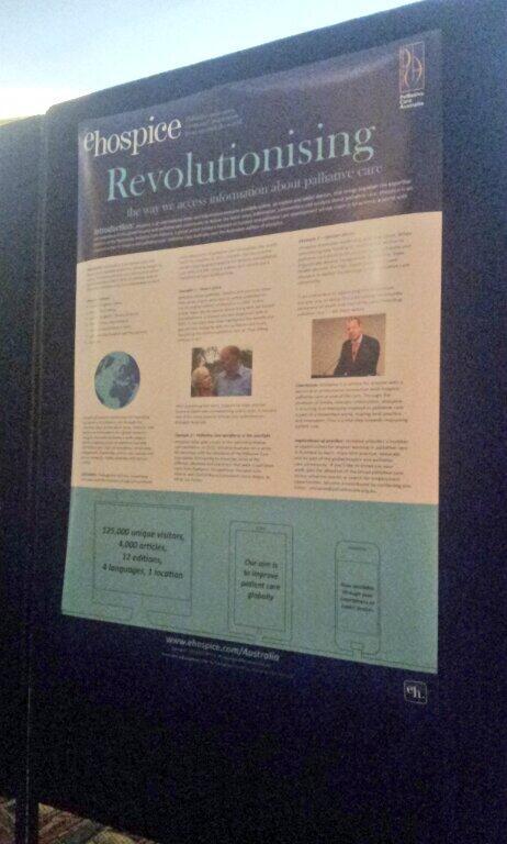 .@ehospicenews on display at #PCNA14 http://t.co/EKotFjgw3J