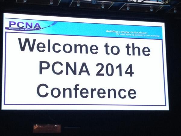 Woo hoo! Let the conversations, celebrations and learning begin... Let us know if you are here. #pcna14 http://t.co/rDyW215kDT