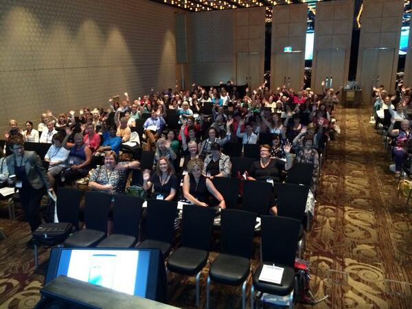 View from the #PCNA14 stage 2 http://t.co/qGlhKcJ7Fl