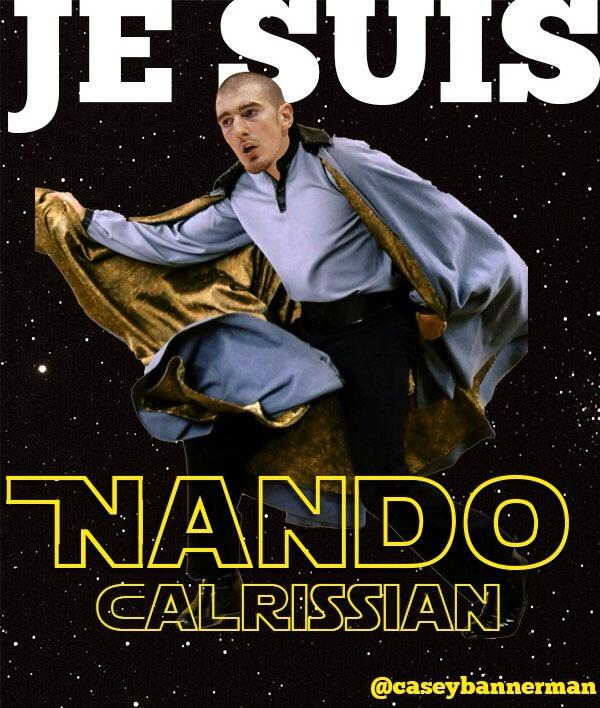 Nando Calrissian to the rescue #RTZ http://t.co/vRo0cNbCh9
