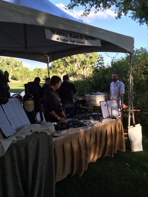 "Patti Todd on Twitter: ""Executive Chef John Wooters at the Stables ..."