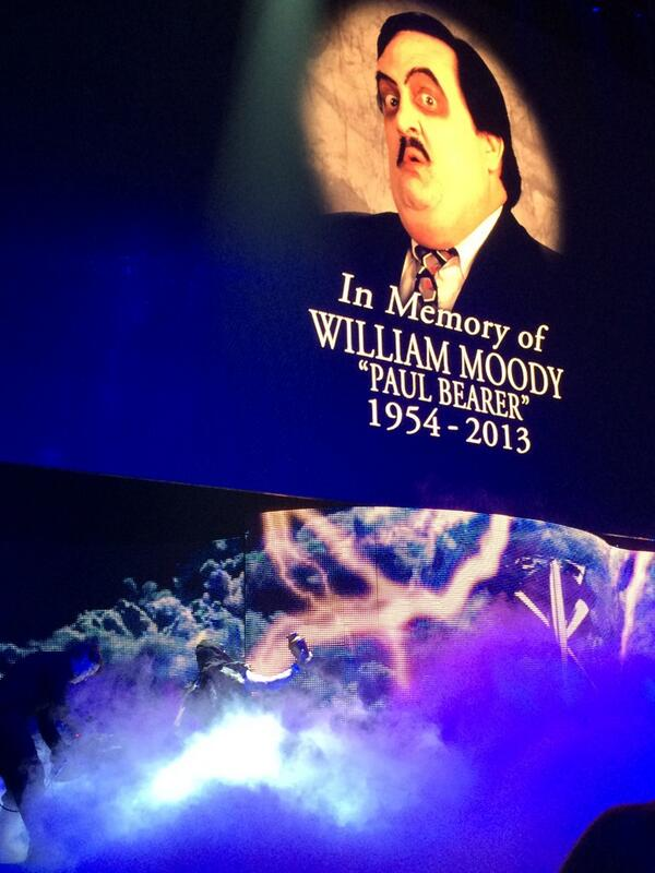 Awesome tribute to paul bearer by Kane and undertaker #wwehof http://t.co/QBfg5AXJ6J