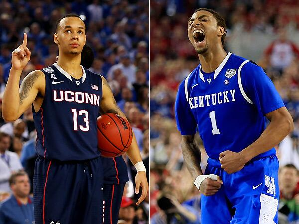 UConn Huskies will face Kentucky Wildcats in national championship game http://t.co/50DeSOcoVz http://t.co/rP6gAUBv2O
