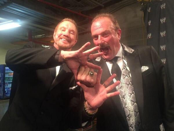What a night! #WWEHOF @JakeSnakeDDT so proud @WWE http://t.co/pG83BX9Xcw