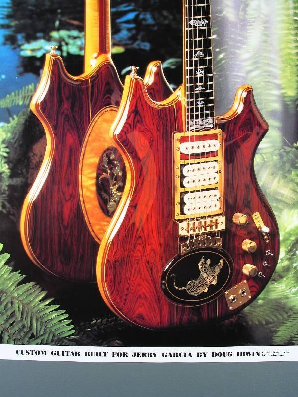 JerryGarcia Tiger Guitar built by  DougIrwin   GratefulDeadpic.twitter.com Wqaj9Smoio 17503a917d2