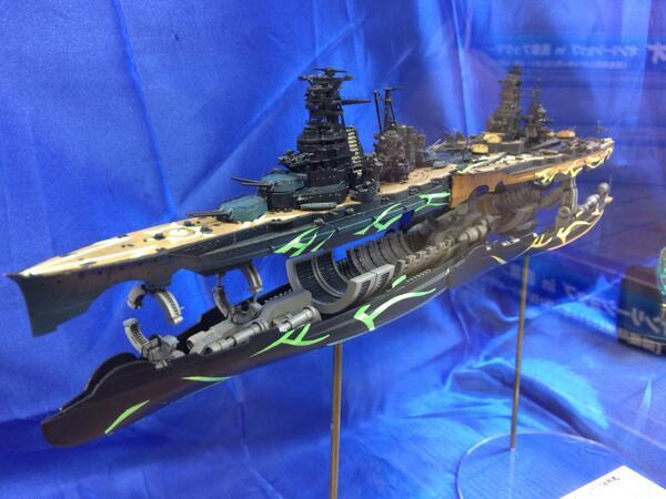 何度見ても合体戦艦スゴイ。#アルペジオ http://t.co/H4RZ1LcxXL