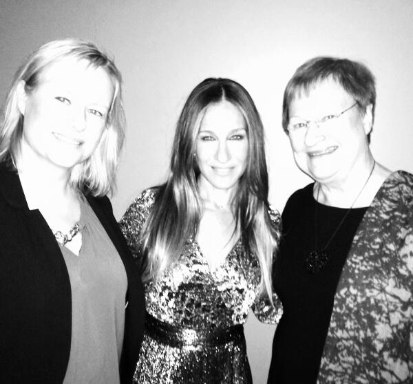 #Sarah Jessica Parker with Tarja and Petra http://t.co/pUCsAMOZ76