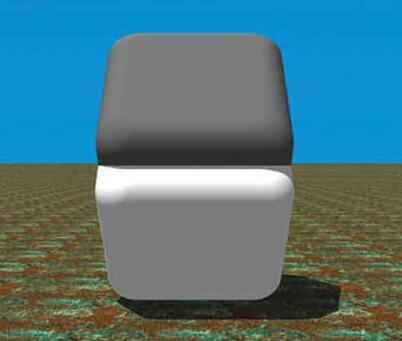 人差し指を横にして、色の境目を隠すと、上下が同じ色だということが分かります... http://t.co/D9iWJj1Ibj