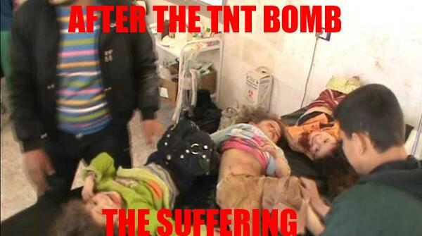 """:( """"@Free_Media_Hub: After the TNT bomb the suffering #Syria #Savealeppo http://t.co/uwapFFgVWh"""""""