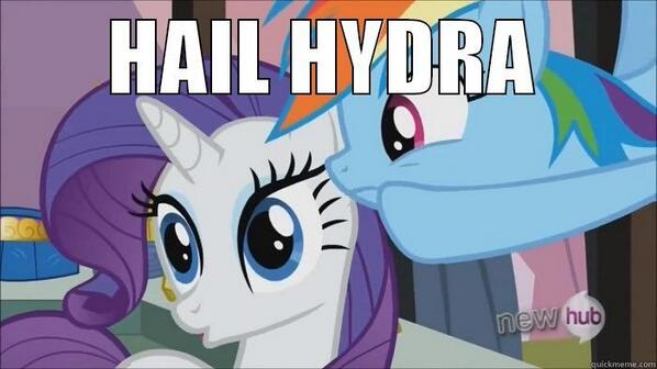 hail hydra my little pony