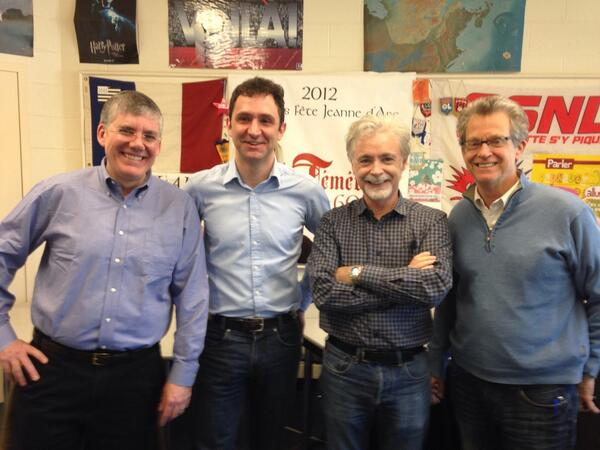 4 authors at the MEGA-AWESOME event in Boston area. Ridley Pearson @eoincolfer @jonathanstroud @rickriordan # kk7tour http://t.co/K4AMkpUGtU
