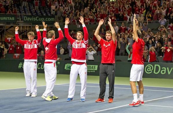 Cuartos de final, Suiza Vs Kazajstan del 4 al 6 de Abril de 2014. - Página 3 BkjvMV2CQAArAC2