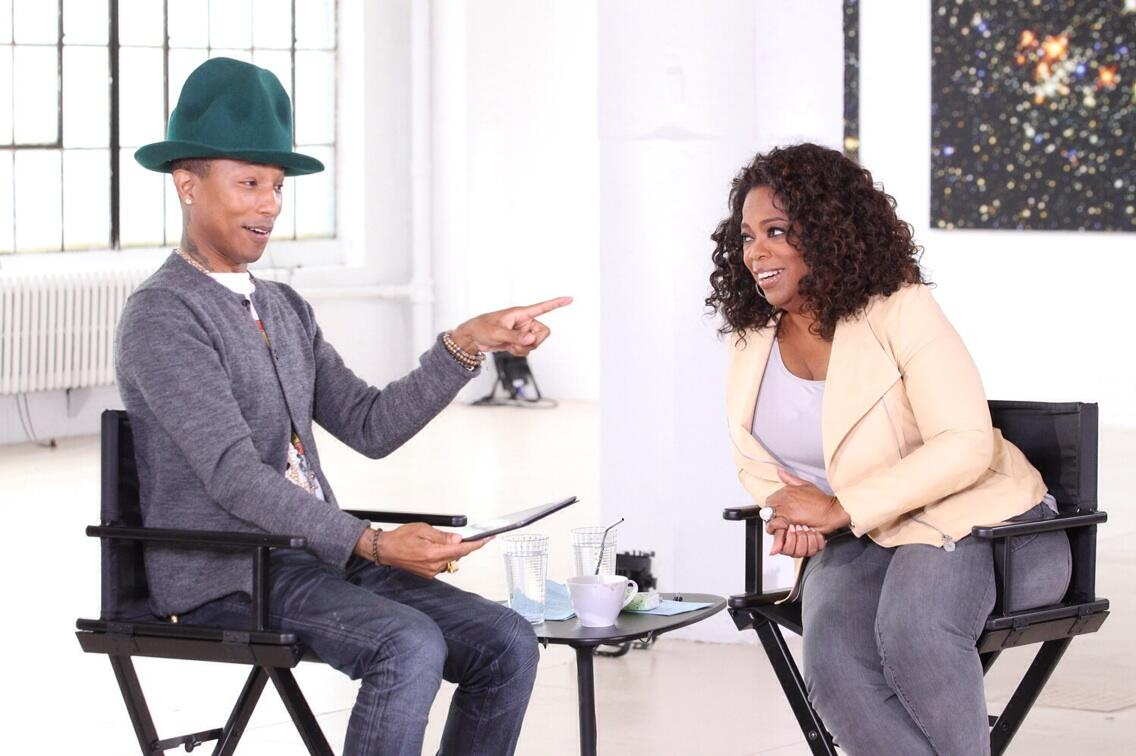 My conversation with @Pharrell is off the charts! Next week #OprahPrime http://t.co/4pv5ltu3vS