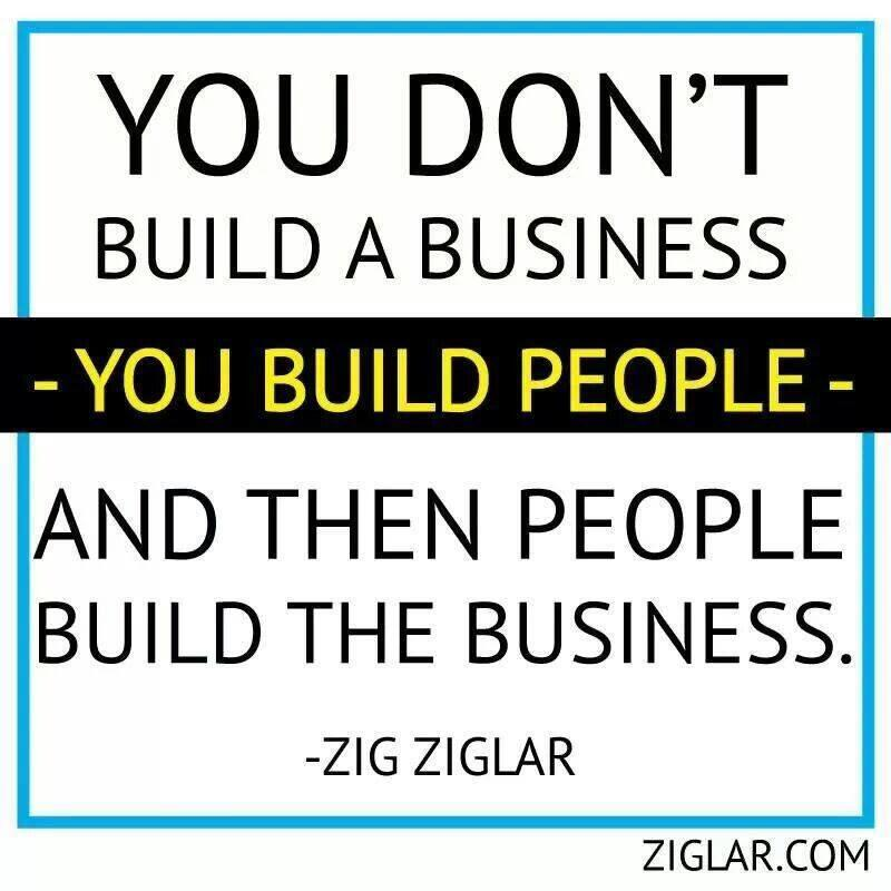 Twitter / JoyAndLife: You don't build a business. ...