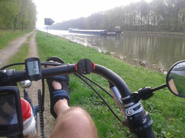 Через Брест проедет путешественник-велосипедист