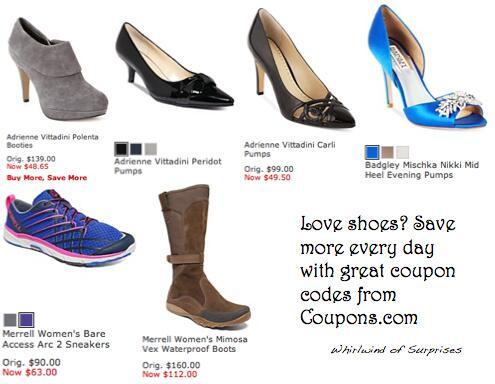 Macy's shoes promo code