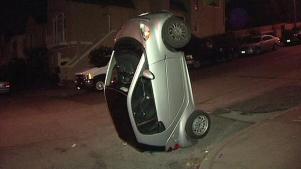 Smartcar tipping