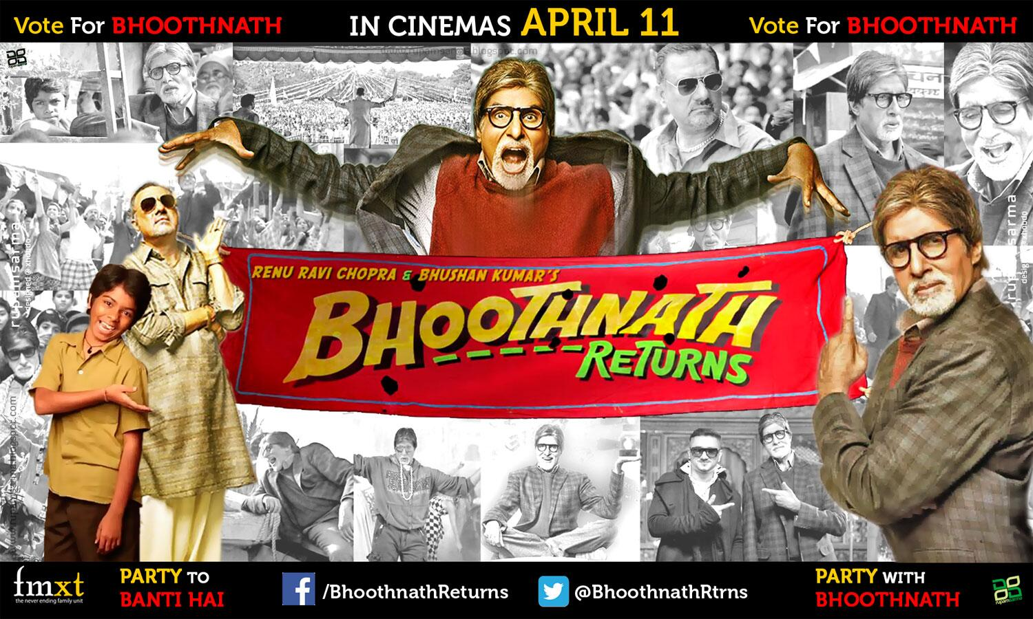 Bhootnath Returns (2014) Hindi Movie *DVDSCR*