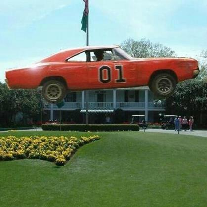 """""""@Will_ODonoghue: Breaking News : Bubba Watson has arrived at Augusta National! http://t.co/tZ2GVUCVWx""""-- General Lee speaking..,"""