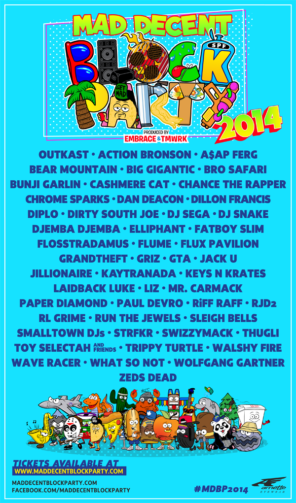 #MDBP2014 line-up revealed!  Limited pre-sale tickets to the MDBP are now on sale at http://t.co/6QfnpU4pkV http://t.co/TiO68aC8Up