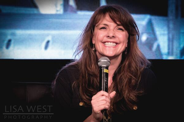 THE Grand Empress of Sci-Fi @amandatapping at #OCCAdelaide http://t.co/Heil6QnF3m