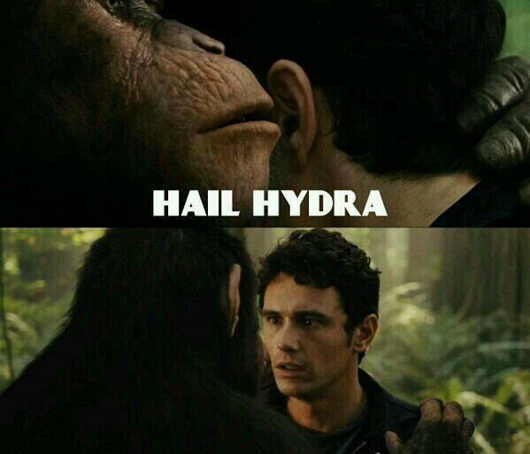 Captain America Hail Hydra Know Your Meme