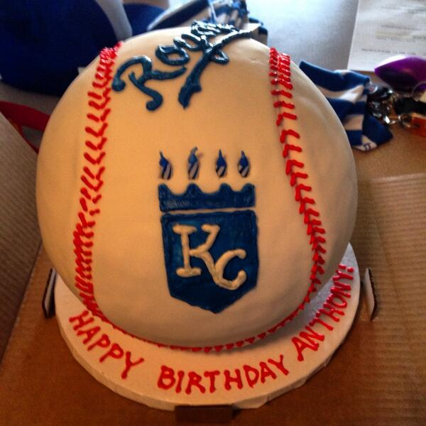 Fine Kansas City Royals On Twitter Happy Birthday Awesome Cakert Funny Birthday Cards Online Overcheapnameinfo