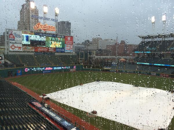 This is why there will be no #Indians-Padres game tonight. http://t.co/TB20GRqtwC