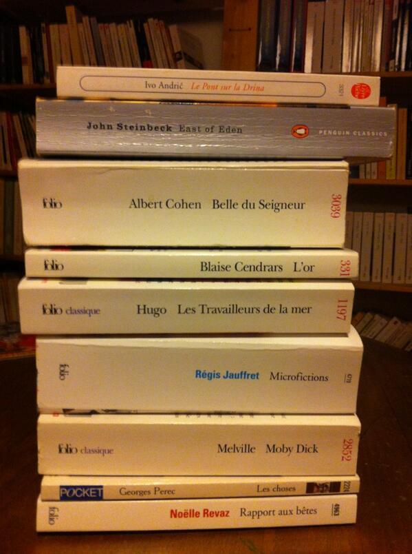 #MyTopTenBooks, avec du @regisjauffret dedans. Manque Les corrections, de J. Franzen http://t.co/6mWy1xOglw