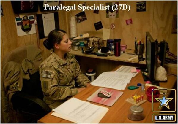 """Army FS Center on Twitter: """"#27D Paralegal Specialist #Soldiers ..."""