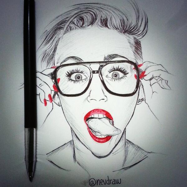 Nevdraw On Twitter Miley Cyrus Quick Pen Sketch Mileycyrus Art Draw Drawing Mileycyrus Pen Sketch Http T Co Gpm7mqfl28