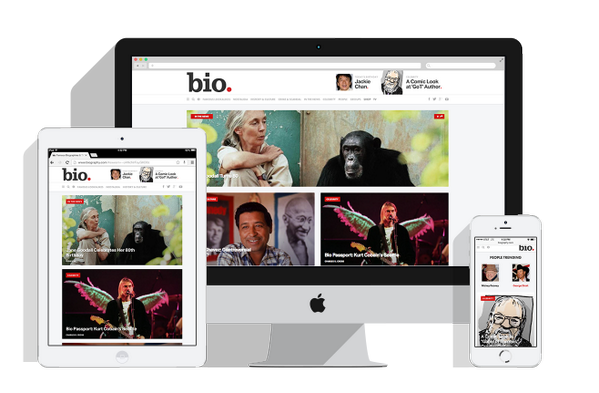 Gorgeous new look and feel for @Bio on Say Media's Tempest platform! http://t.co/tTetVI7HLa http://t.co/mLLbQ2xYLS