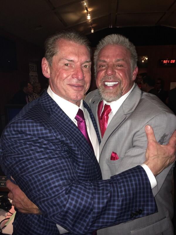 Photo: Vince McMahon And The Ultimate Warrior ...