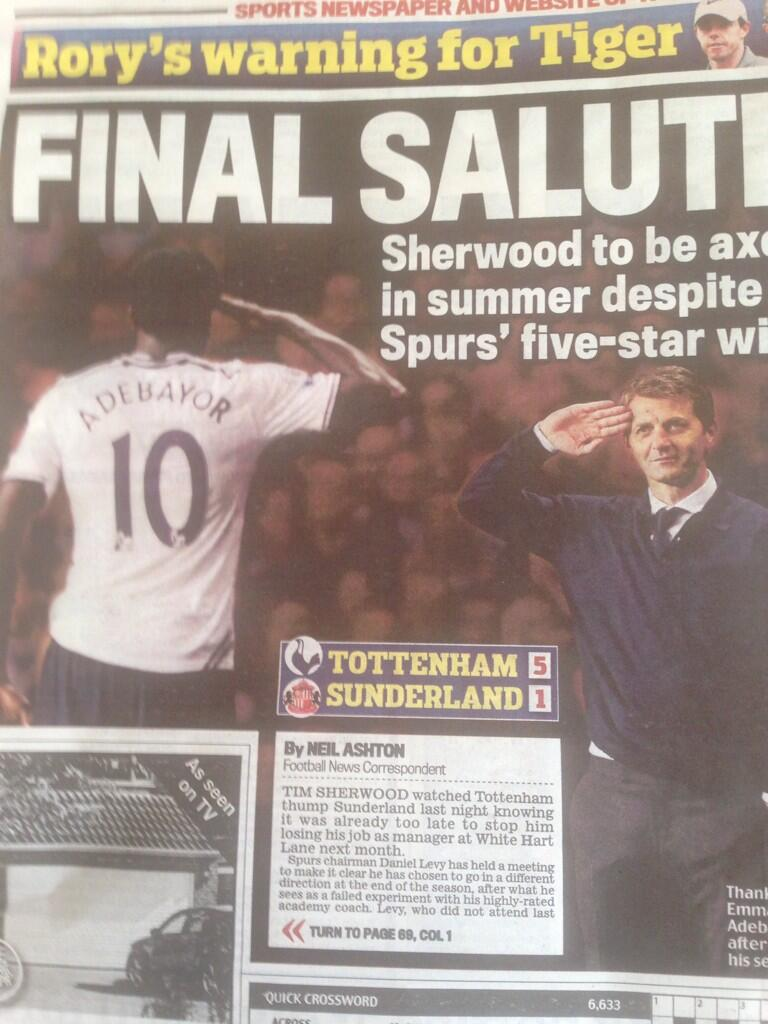 The best tweets after the Daily Mail airbrush out Chris Ramsey from the Tottenham salute picture