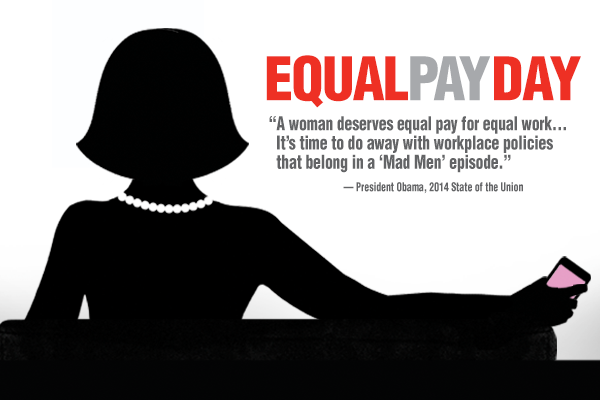 Today is about #EqualPay for equal work. Learn more at http://t.co/8YOjv7lNj7. http://t.co/WnSKmwde05