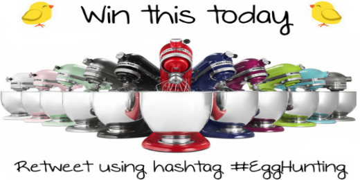 Follow us and #RT to #win! Keep #EggHunting to win a #KitchenAid today ►► http://t.co/XsOOxd21Pd http://t.co/nEy250wID4